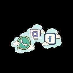 קישורים לרשתות חברתיות